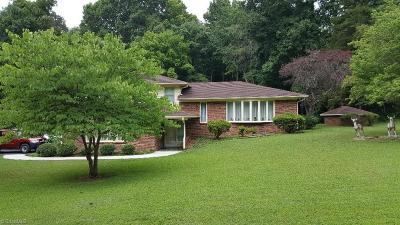Mocksville Single Family Home For Sale: 286 Kennen Krest Road