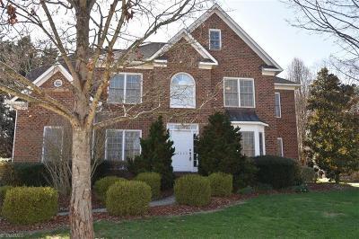 Greensboro Single Family Home For Sale: 5809 Windhurst Court