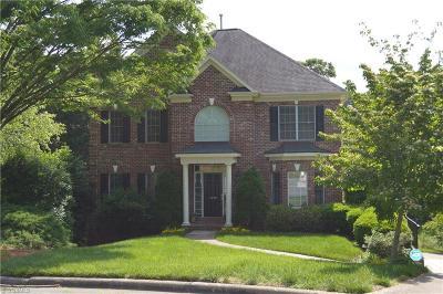 Winston Salem Single Family Home For Sale: 1209 Oak Springs Court
