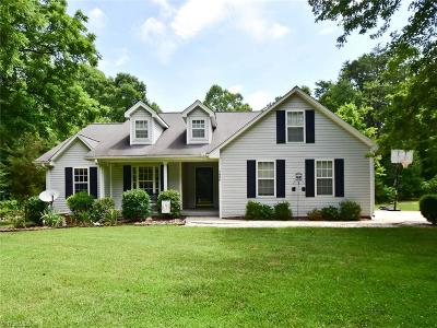 Kernersville Single Family Home For Sale: 7600 Pearman Quarry Road