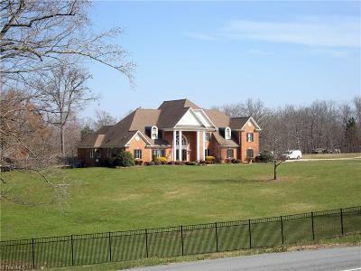High Point NC Single Family Home For Sale: $1,190,000