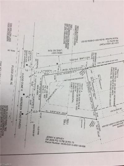 High Point Residential Lots & Land For Sale: 1003 Aberdeen Road