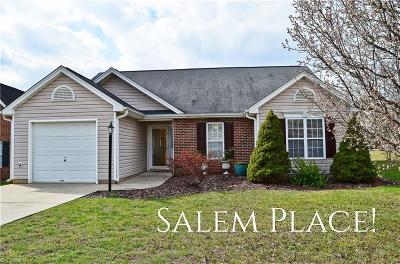 Clemmons Single Family Home Due Diligence Period: 205 Salem Ridge Court