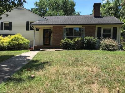 High Point Single Family Home For Sale: 707 Overbrook Drive