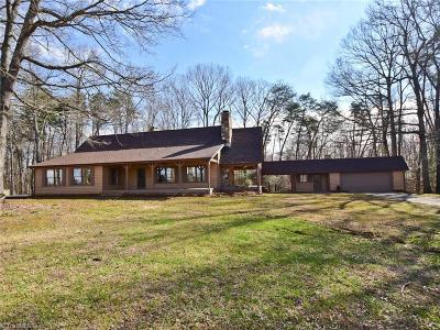 Gibsonville Single Family Home For Sale: 7381 Brooks Bridge Road