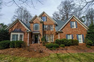 Guilford County Single Family Home For Sale: 1905 Brassfield Road