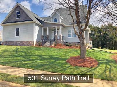 Single Family Home Due Diligence Period: 501 Surrey Path Trail