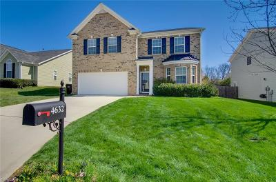 Guilford County Single Family Home For Sale: 4632 Meadowside Terrace