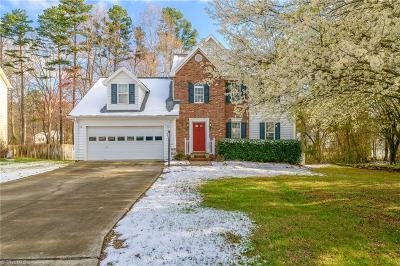 Winston Salem Single Family Home Due Diligence Period: 2225 Riley Forest Drive