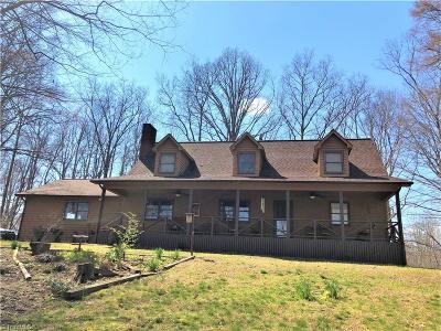 Mocksville Single Family Home For Sale: 432 Cherry Hill Road