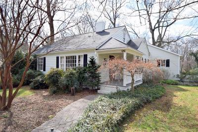 Winston Salem Single Family Home For Sale: 1050 Vernon Avenue