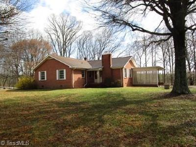 Rockingham County Single Family Home For Sale: 833 Dan Valley Road