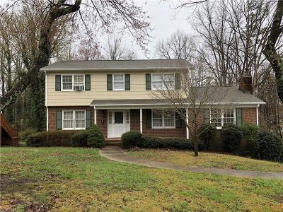 High Point NC Single Family Home For Sale: $155,000