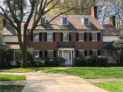 Winston Salem Single Family Home For Sale: 2820 Country Club Road