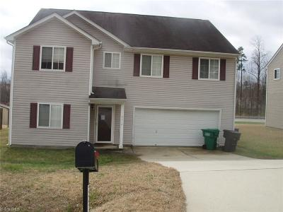 High Point NC Single Family Home For Sale: $150,800