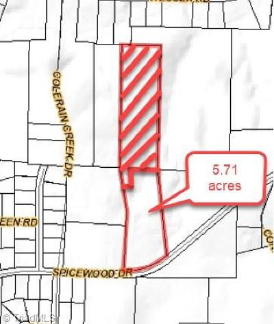 Winston Salem Residential Lots & Land For Sale: Spicewood Drive