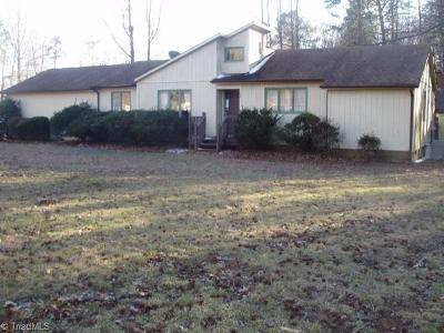 Gibsonville NC Single Family Home For Sale: $67,600