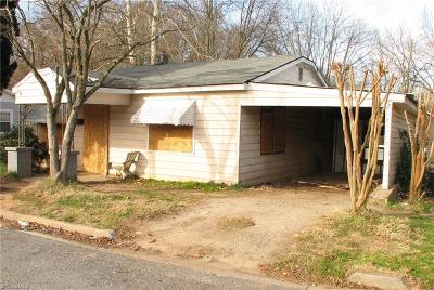 Winston Salem Single Family Home For Sale: 904 Alder Street