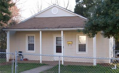 Winston Salem Single Family Home For Sale: 3321 Kirby Street