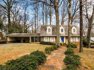 High Point Single Family Home For Sale: 1407 Grantham Drive