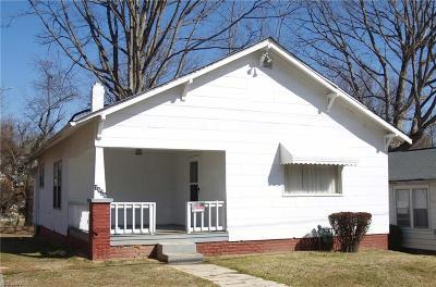 Winston Salem Single Family Home For Sale: 1525 E 24th Street