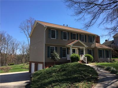 High Point Single Family Home For Sale: 1016 Shamrock Road