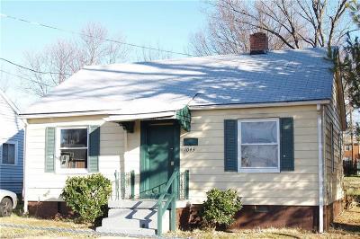 Winston Salem Single Family Home For Sale: 1043 E 17th Street