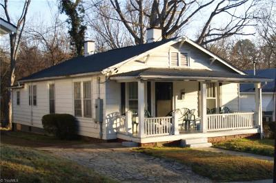 Winston Salem Single Family Home For Sale: 1529 E 24th Street