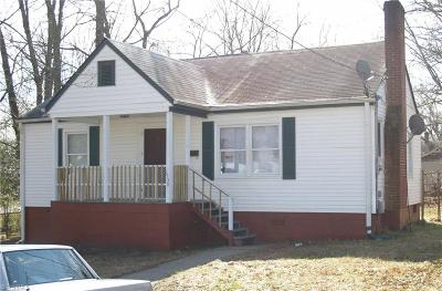 Winston Salem Single Family Home For Sale: 1530 E 24th Street