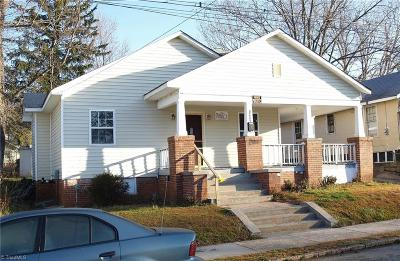 Winston Salem Single Family Home For Sale: 1407 E 23rd Street