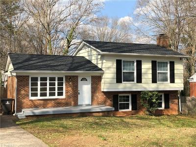 Winston Salem Single Family Home For Sale: 228 Montpelier Drive