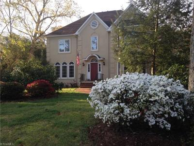 Winston Salem Single Family Home For Sale: 3840 Guinevere Lane