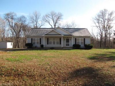 Caswell County Single Family Home For Sale: Easy Street Easy Street Extension