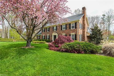 Greensboro Single Family Home For Sale: 5001 Edinborough Road