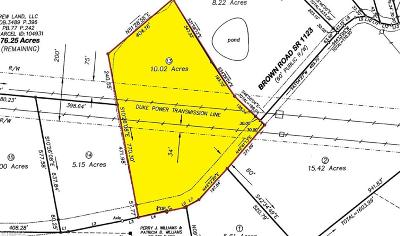 Alamance County Residential Lots & Land For Sale: 4915 Brown Road