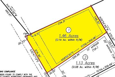 Alamance County Residential Lots & Land For Sale: 6575 Joe Mitchell Road