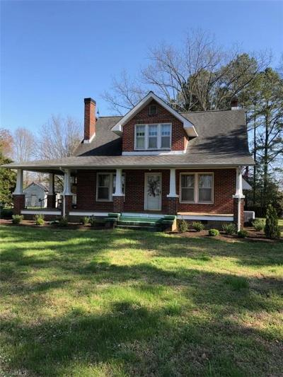 Rockingham County Single Family Home Due Diligence Period: 2200 Worsham Mill Road