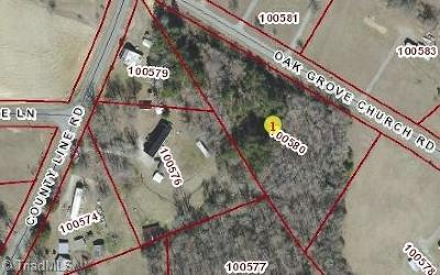 Alamance County Residential Lots & Land For Sale: 00 Oak Grove Church Road