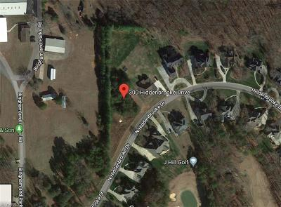 Advance Residential Lots & Land For Sale: 300 N Hiddenbrooke Drive