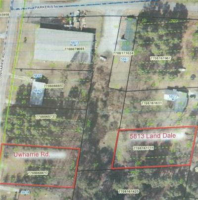 High Point Residential Lots & Land For Sale: 5813 Land Dale Drive