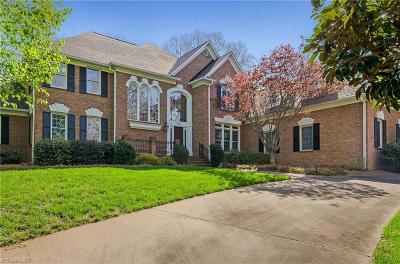 Winston Salem NC Single Family Home For Sale: $875,000