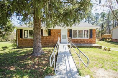High Point Single Family Home Due Diligence Period: 2611 Ingram Road