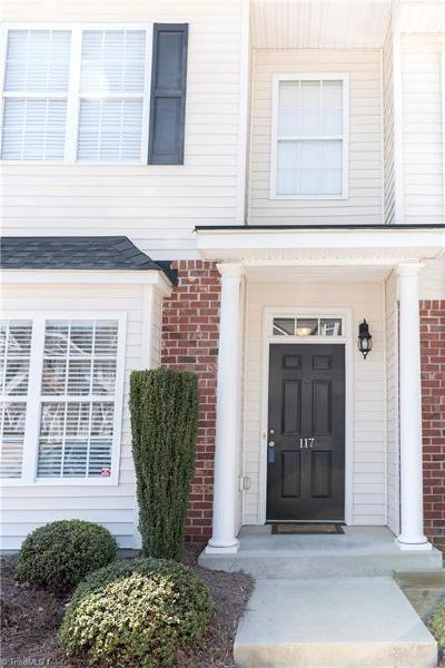 Kernersville NC Condo/Townhouse Due Diligence Period: $117,500