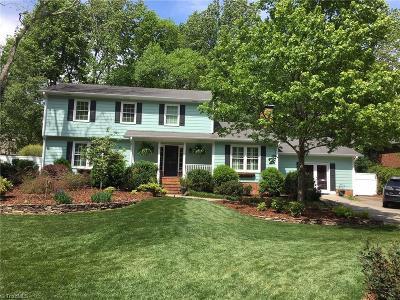 Greensboro Single Family Home For Sale: 3502 Redington Drive