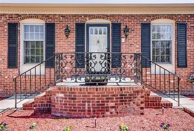 High Point Single Family Home For Sale: 1008 Shalimar Drive
