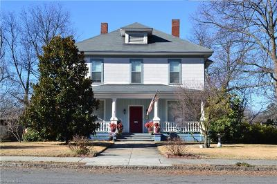 Reidsville NC Single Family Home For Sale: $149,500