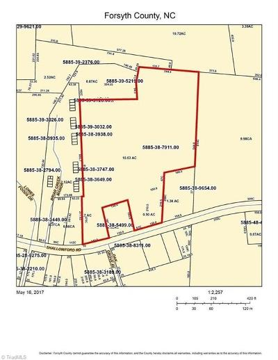 Lewisville Residential Lots & Land For Sale: 6145 Shallowford Road