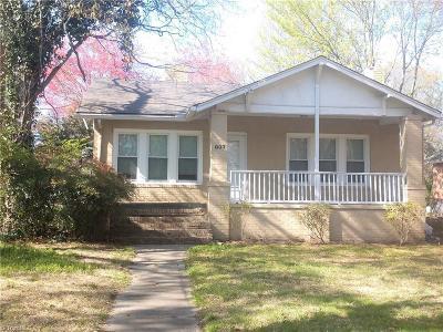 High Point Single Family Home For Sale: 803 E Lexington Avenue