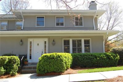 Guilford County Condo/Townhouse For Sale: 422 Fisher Park Circle #A