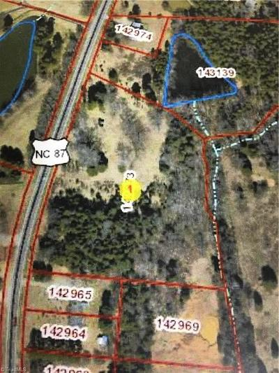Alamance County Residential Lots & Land For Sale: 2048 Main Street